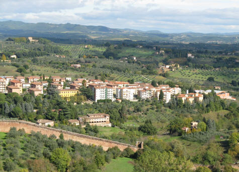 Hotels in Volterra Italy